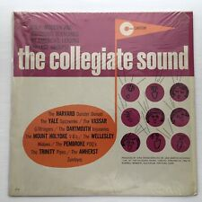 THE COLLEGIATE SOUND- RARE NM LP W/ SHRINK HARVARD, YALE, WELLESLEY AND MORE !
