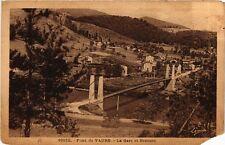 CPA  Beauzac - Pont de Vaure - La Gare et Bransac  (690640)
