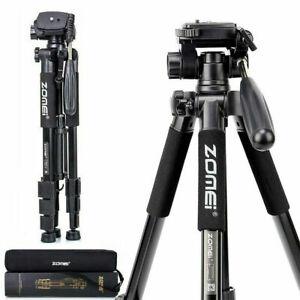 Professional ZOMEI Q111 Portable Travel Camera Tripod For Camcorder DSLR Phone