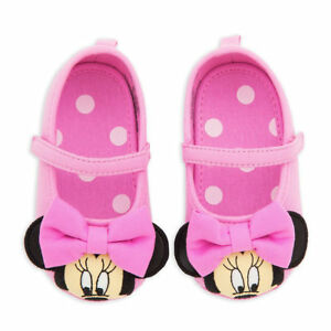 NWT Disney Store Minnie Mouse Baby Costume Shoes 0 6 12 18 M