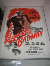 ANGEL AND THE BADMAN JOHN WAYNE (R1959) ORIGINAL 27x41 MOVIE POSTER (468)