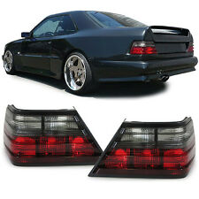 SMOKED REAR TAIL LIGHTS FOR MERCEDES E CLASS W124 SEDAN COUPE CABRIO NICE GIFT