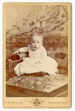 CABINET CARD PHOTOGRAPH OF INFANT, MINNEAPOLIS