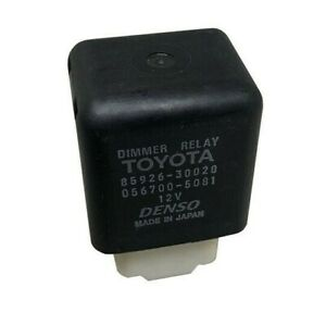 Toyota Lexus Dimmer Relay 85926-30020 Camry Tacoma Corolla Denso Tercel Prius