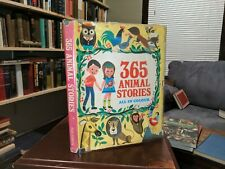 365 Animal Stories All In Colour Children's Picture Book By Paul Hamlyn HC 1968