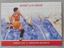 2012-13 Panini Spirit of the Game #2 Jeremy Lin Houston Rockets Basketball Card