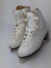Bladerunner Junior Solstice Ice Figure Skate, White, Size 13J