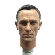 1/6 Scale Spectre James Bond Head Sculpt For 12'' Action Figures Body