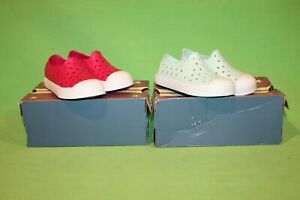 2 PAIR OF New In Box Austin Trading Co. WILLY NILLY Toddler Girl Shoes Sz 8