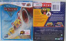 Disney Pixar Cars 3 (Blu-ray, DVD, Digital Copy, 2017) & 3 Short Films w/ Mater