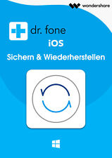 Wondershare Dr.Fone iOS Sichern & Wiederherstellung  lifetime Lizenz Download