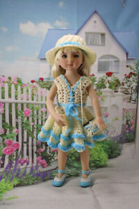 """Senydolls  OUTFIT+shoes  FOR DOLLS 13"""" for  Effner Little Darling _Paola Reina"""