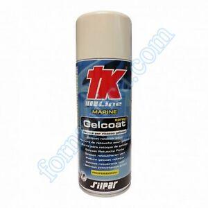 GELCOAT SPRAY TK PER RITOCCO E FINITURE 400 ml. -  COLORE BIANCO PURO  - NAUTICA