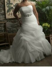 Callista Bridal New Tampa wedding dress label Size 18 RRP £1400