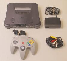 New listing Nintendo 64 N64 Console Nus-001 - Black Tested Bundle
