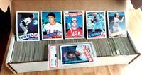 1985 Topps Baseball Set 1-792 NRMT-MT PSA 8 Rookies Clemens Puckett McGwire