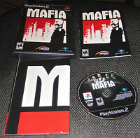 MAFIA Sony PlayStation 2 PS2 Game 2004 Complete with Poster/Map and Manual