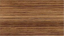 1.5 Metre ZEBRANO WOOD GRAIN WOODGRAIN BROWN STICKY BACK PLASTIC VINYL FILM 45cm