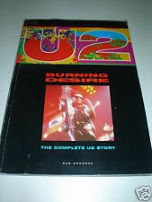 U2 Burning Desire: the Complete U2 Story - 224 pgs VG++