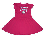 GIRLS DRESS HELLO KITTY PINK  3-8 YEARS OLD