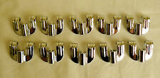 NEW Chrome Small Drum Claws Bass Snare Tom Lot of 10 for Drum Set Kit