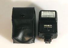 MINOLTA 200X FLASH W/ CASE