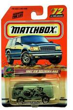 2000 Matchbox #72 On Tour 1967 Volkswagen Delivery Van with 2000 logo
