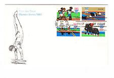USA FDC Ersttagsbrief 1979 Olympia Moskau Mi.Nr.1398-1401