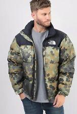 Men's The North Face 1996 Retro Nuptse Jacket - Camo Green - Medium
