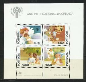 Portugal 1979 - Child International Year S/S MNH