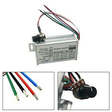 12v Max 20a Pwm Dc Motor Stepless Variable Speed Control Controller Switch Fn