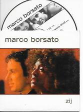 MARCO BORSATO - Zij CD SINGLE 2TR Dutch Cardsleeve 2002 Polydor
