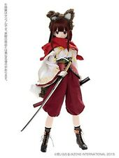 New ! Azone 50cm Doll 1/3 Black Raven Series Amane The fate of blaze In Stock JP