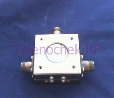 RF microwave single junction circulator 890 MHz CF/  180 MHz BW/ 100 Watt/ data