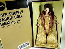 NIB BARBIE DOLL 1997 CAFE SOCIETY MEMBERS CHOICE WITH SHIPPER