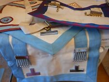 3 old masonic aprons,,,,,,,22