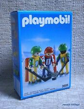 "PLAYMOBIL # 3685 "" Hockey team "" MISB Winter time MADE IN MALTA 1991"