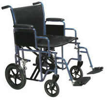 Drive Medical Bariatric Heavy Duty Transport Wheelchair w/Swing away Footrest