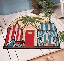 "Tropical Cabana Beach Theme Floor Mat - Door Mat - Welcome Rug 27x28"" Rug 32392"