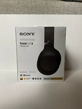 Sony hear on 2 wireless Wh-H900N, Noise Cancelling Foldable Headphones - Black