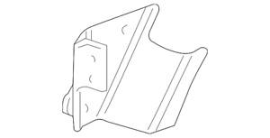 Genuine GM Bumper Cover Support Bracket 15147253