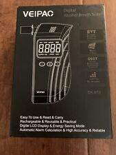 Veipac Digital alcohol Breathalyzer Tester - Black