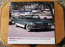 1960 Buick Invicta 2 dr ht Car Plaque