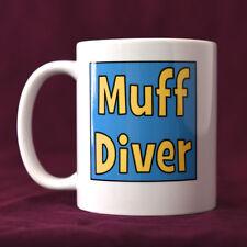 Muff Diver - LGBT+ Mug, Funny Mugs,