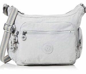Kipling Women's Gabbie Cross-Body Bag Grey RRP £83 New