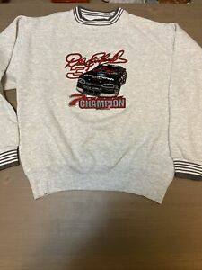 Dale Earnhardt Sweatshirt - Vintage - Large - 1995