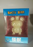 bossy bear white glow in the dark GID new in the box toy2R