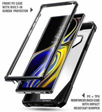 Case For Samsung Galaxy Note 9 Clear Screen Protector Shockproof Bumper Black