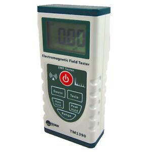 EMF Meter Electromagnetic Radiation Instrument Tester Gaussmeter TM1390