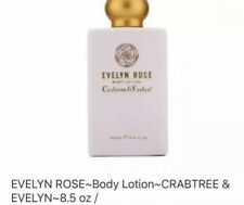 Crabtree & Evelyn EVELYN ROSE Body Lotion 8.5 oz. ~